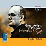 Sviatoslav Richter Great Artists - Live In Prague - Sviatoslav Richter - Piano - Dvořák - Brahms