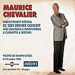 Maurice Chevalier Dernier Concert Octobre 1968