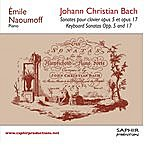 Emile Naoumoff Sonate Pour Clavier Opus 5 Et Opus 17, Keyboard Sonatas Opp. 5 And 17
