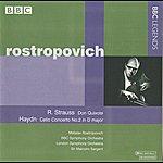 Mstislav Rostropovich Rostropovich - Strauss: Don Quixote - Haydn: Cello Concerto No. 2
