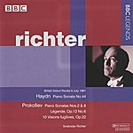 Sviatoslav Richter Richter - Haydn: Keyboard Sonata No. 44 - Prokofiev: Piano Sonata No. 2 & 8 - Legende, Op. 12, No. 6 - 10 Visions Fugitives