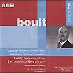 Sir Adrian Boult Boult - Vaughan Williams, Hadley, Bax, Berg