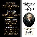 Walter Goehr Tchaikovsky: Violin Concerto In D Major, Op. 35 & Melodie, Op. 42 No. 3