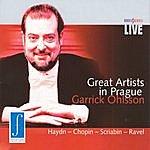 Garrick Ohlsson Great Artists In Prague - Garrick Ohlsson