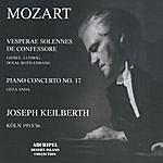Joseph Keilberth Mozart: Vesperae Solennes De Confessore, Keilberth
