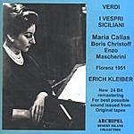 Erich Kleiber Verdi - I Vespri Siciliani: Callas; Erich Kleiber