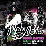 Baby Blue Paper Haters