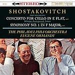 Mstislav Rostropovich Shostakovitch: Cello Concerto In E-Flat, Op. 107; Symphony No. 1 In F-Major, Op. 10