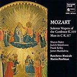 Martin Pearlman Mozart: Solemn Vespers Of The Confessor & Coronation Mass