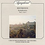 Czech Philharmonic Orchestra Beethoven: Symphonies Nos. 2 & 4