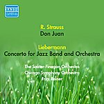Fritz Reiner Liebermann, R.: Concerto For Jazz Band And Orchestra / Strauss, R.: Don Juan (Reiner) (1954)