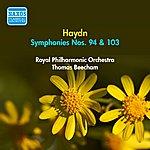 Sir Thomas Beecham Haydn, J.: Symphonies Nos. 94 And 103 (Beecham) (1951)