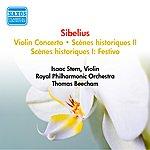 Isaac Stern Sibelius, J.: Violin Concerto / Scenes Historiques II (Stern, Beecham) (1950-1952)