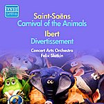 Felix Slatkin Saint-Saens: Carnival Of The Animals / Ibert: Divertissement (F. Slatkin) (1953-1954)