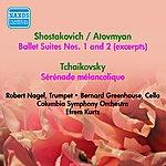 Efrem Kurtz Shostakovich, D.: Ballet Suites Nos. 1, 2 (Excerpts) / Tchaikovsky, P.I.: Serenade Melancolique (Efrem Kurtz) (1952)