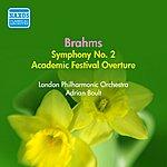 Sir Adrian Boult Brahms: Symphony No. 2 (Boult) (1954)