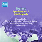 Sir Adrian Boult Brahms: Symphony No. 3 (Boult) (1954)