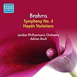 Sir Adrian Boult Brahms: Symphony No. 4 (Boult) (1955)