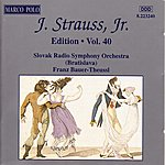 Franz Bauer-Theussl Strauss II, J.: Edition - Vol. 40