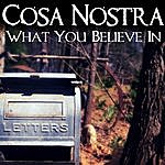 Cosa Nostra What You Believe In