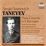 Thomas Sanderling Taneyev: Piano Music