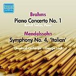 George Szell Mendelssohn: Symphony No. 4 / Brahms: Piano Concerto No. 1 (Serkin, Szell) (1947, 1952)