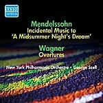 George Szell Mendelssohn, F.: Midsummer Night's Dream (A) / Wagner, R.: Opera Overtures (Szell) (1951, 1954)