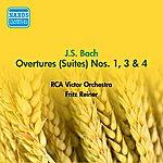 Fritz Reiner Bach, J.S.: Overtures (Suites) Nos. 1, 3, 4 (Reiner) (1952)