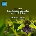 Fritz Reiner Bach, J.S.: Brandenburg Concertos Nos. 1-3, 6 (Reiner) (1949)