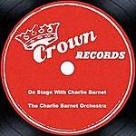 Charlie Barnet On Stage With Charlie Barnet