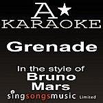 A Bruno Mars - Grenade (Karaoke Audio Version)