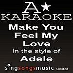 A Adele - Make You Feel My Love (Karaoke Audio Version)
