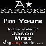 A Jason Mraz - I'm Yours Glee Cast - Defying Gravity (Karaoke Audio Version)