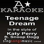 A Katy Perry - Teenage Dream (Karaoke Audio Version)