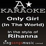 A Rihanna - Only Girl (In The World) (Karaoke Audio Version)