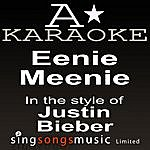 A Justin Bieber - Eenie Meenie (Karaoke Audio Version)