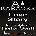 A Taylor Swift - Love Story (Karaoke Audio Version)