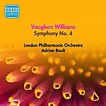 Sir Adrian Boult Vaughan Williams, R.: Symphony No. 4 (Boult) (1953)