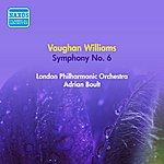 Sir Adrian Boult Vaughan Williams, R.: Symphony No. 6 (Boult) (1953)