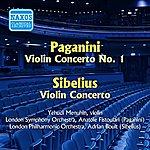 Yehudi Menuhin Paganini: Violin Concerto No. 1 / Sibelius: Violin Concerto (Menuhin) (1955)