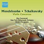 Zino Francescatti Mendelssohn / Tchaikovsky: Violin Concertos (Francescatti) (1955)