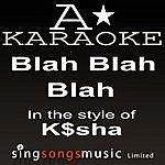 A K$sha - Blah Blah Blah (Karaoke Audio Version)