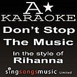 A Rihanna - Don't Stop The Music (Karaoke Audio Version)