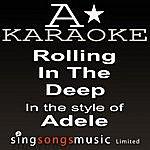 A Adele - Rolling In The Deep (Karaoke Audio Version)