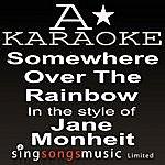 A Jane Monheit - Somewhere Over The Rainbow (Karaoke Audio Version)