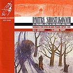Vladimir Tropp Shostakovich: 24 Preludes, Opus 34 For Violin And Piano / Sonata For Violin And Piano, Opus 134