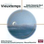 Arthur Grumiaux Vieuxtemps: Violin Concertos Nos.4 & 5 Etc