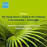 Eduard Van Beinum Britten, B.: Young Person's Guide To The Orchestra (The) / 4 Sea Interludes / Passacaglia (Beinum) (1953)
