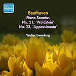 Walter Gieseking Beethoven, L. Van: Piano Sonatas Nos. 21 And 23 (Gieseking) (1951)