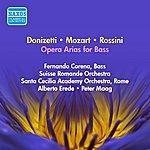 Fernando Corena Vocal Recital: Corena, Fernando - Cimarosa, D. / Donizetti, G. / Rossini, G. / Mozart, W.A. (1954-1955)